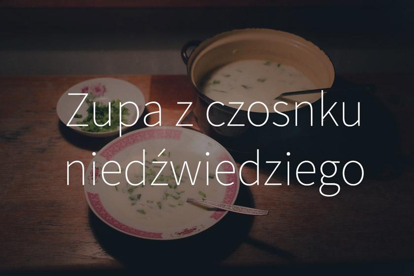 Zupa z czosnku